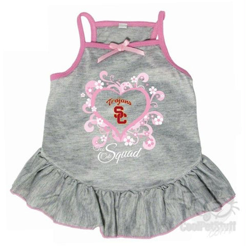 "USC Trojans ""Too Cute Squad"" Pet Dress"