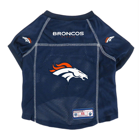 Denver Broncos Mesh Pet Jersey