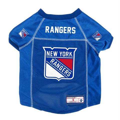 New York Rangers Pet Jersey