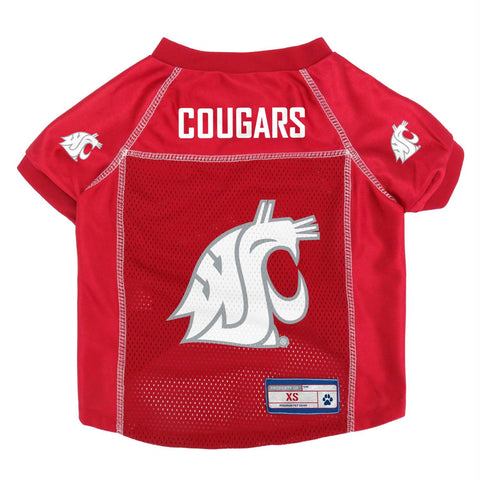 Washington State Cougars Mesh Pet Jersey