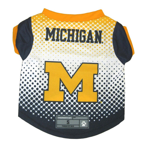 Michigan Wolverines Pet Performance Tee