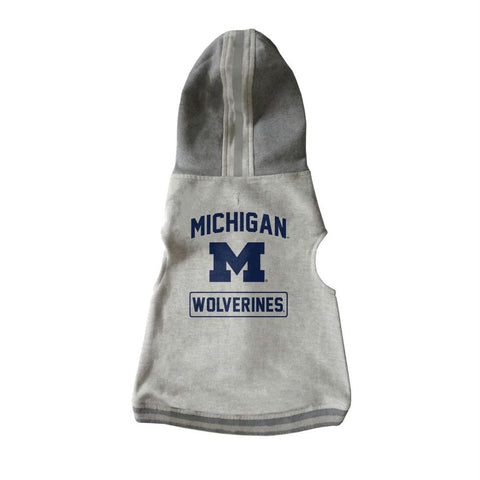Michigan Wolverines Pet Crewneck Hoodie