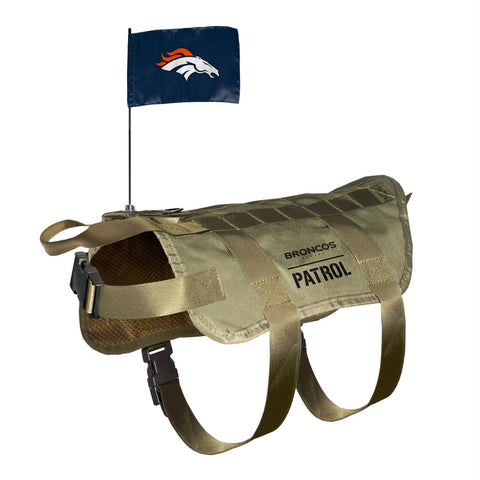 Denver Broncos Pet Tactical Vest