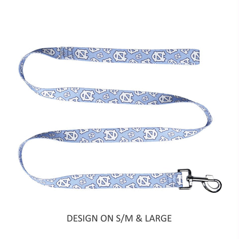 North Carolina Tarheels Pet Nylon Leash