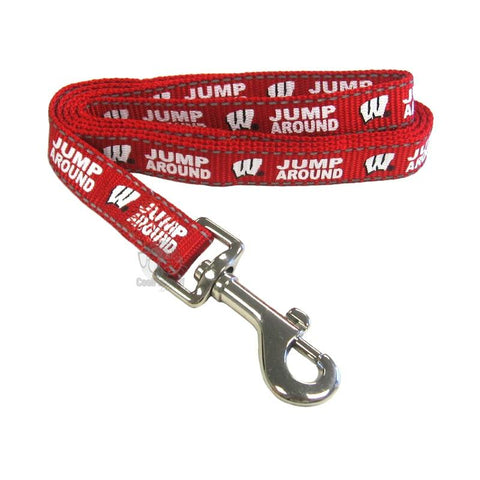 Wisconsin Badgers Pet Reflective Nylon Leash