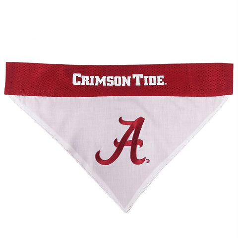 Alabama Crimson Tide Pet Reversible Bandana