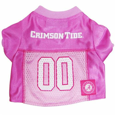 Alabama Crimson Tide Pink Dog Jersey
