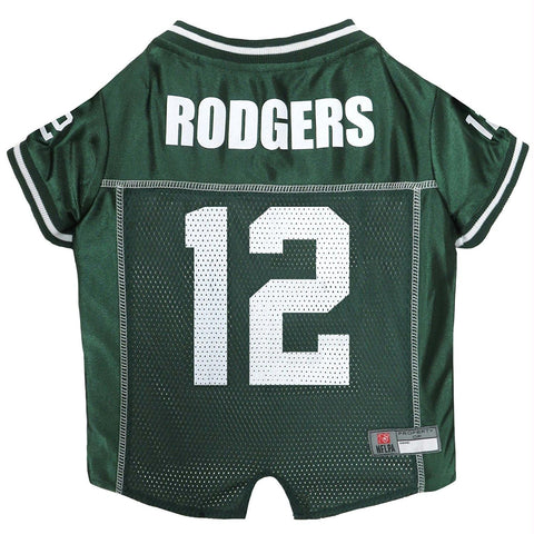 Green Bay Packers Aaron Rodgers #12 Pet Jersey