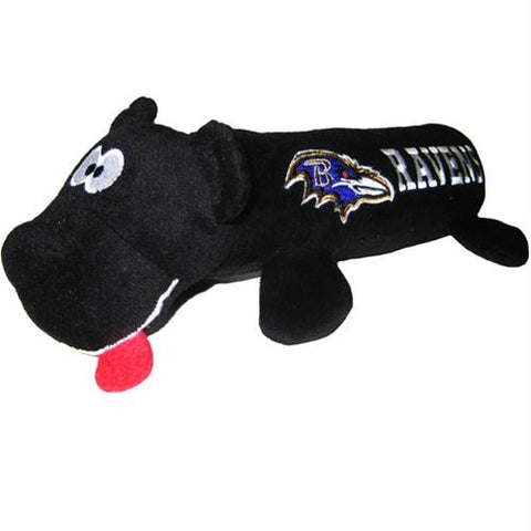 654e29934 Baltimore Ravens Plush Tube Pet Toy