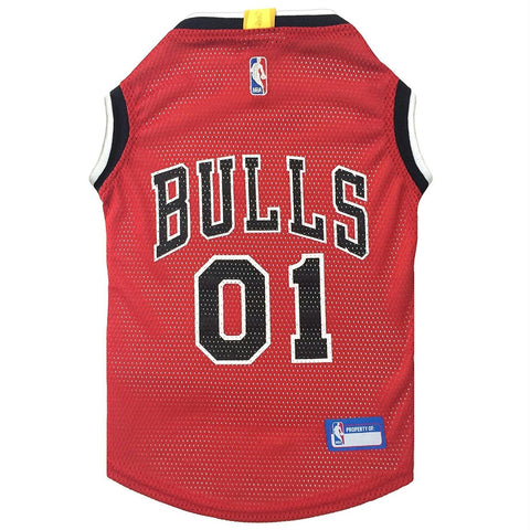 Chicago Bulls Pet Jersey