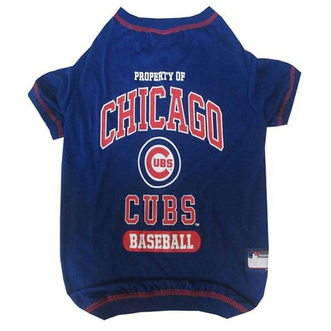Chicago Cubs Pet T-shirt - XL