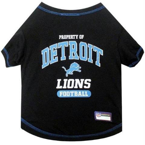 Detroit Lions Pet T-Shirt