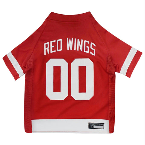 Detroit Red Wings Pet Jersey