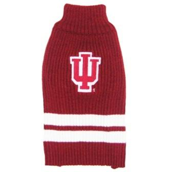 Indiana Hoosiers Pet Sweater