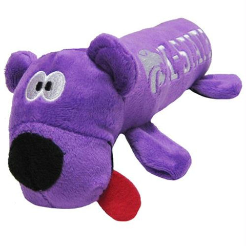 Kansas State Wildcats Plush Tube Pet Toy
