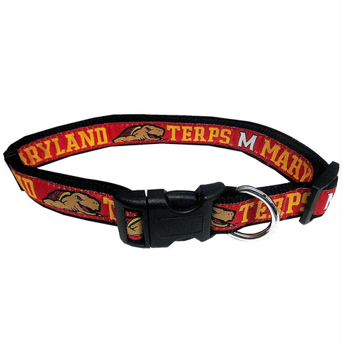 Maryland Terrapins Pet Collar by Pets First