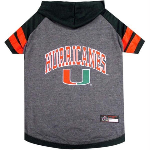 Miami Hurricanes Pet Hoodie T-Shirt