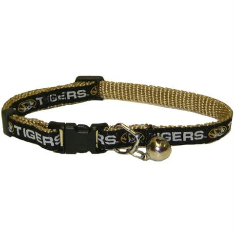 Missouri Tigers Breakaway Cat Collar