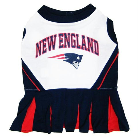 New England Patriots Cheerleader Dog Dress
