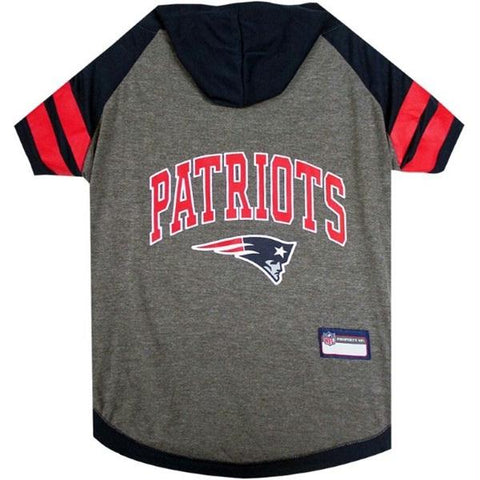 New England Patriots Pet Hoodie T-Shirt