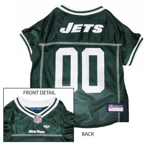 New York Jets Dog Jersey - XX-Large