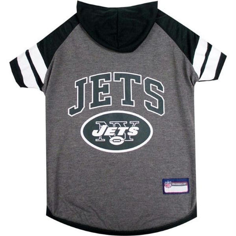 New York Jets Pet Hoodie T-Shirt
