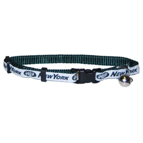 New York Jets Breakaway Cat Collar