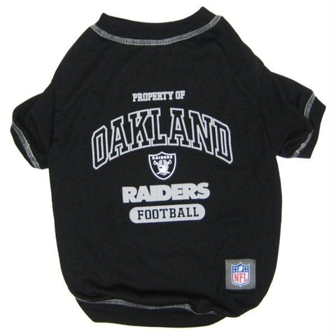 Oakland Raiders Dog T-Shirt
