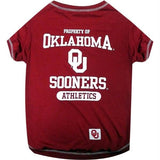 Oklahoma Sooners Pet Tee Shirt