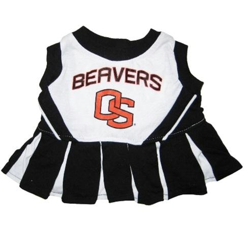 Oregon State Beavers Cheerleader Pet Dress