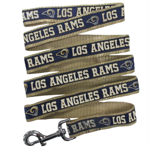 Los Angeles Rams Pet Leash by Pets First