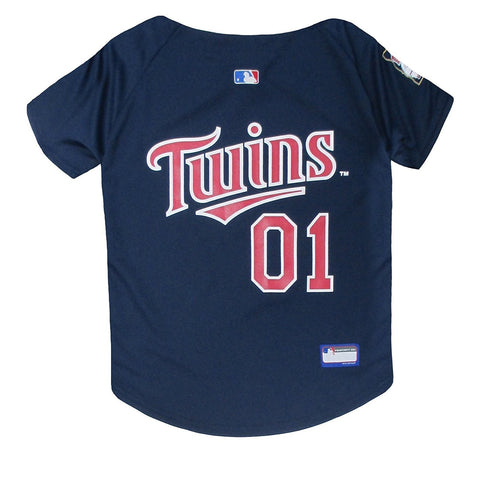 Minnesota Twins Blue Pet Jersey
