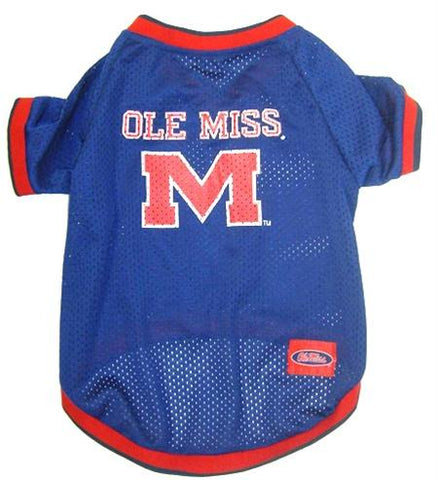 Ole Miss Rebels Pet Jersey