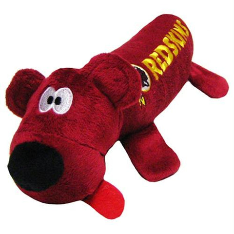 Washington Redskins Plush Tube Pet Toy