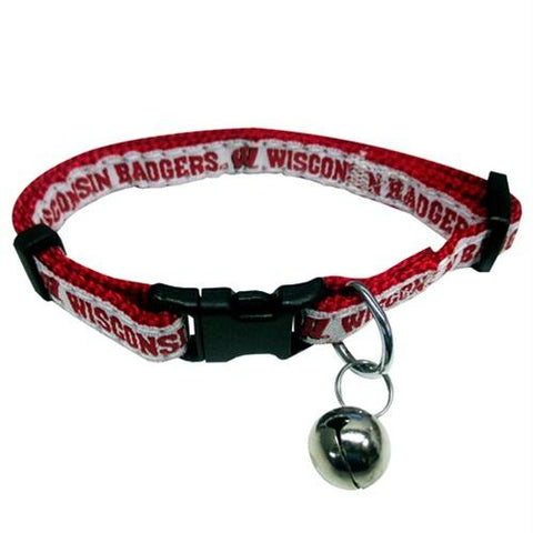 Wisconsin Badgers Breakaway Cat Collar