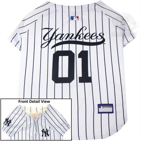 New York Yankees Pet Jersey - XXL