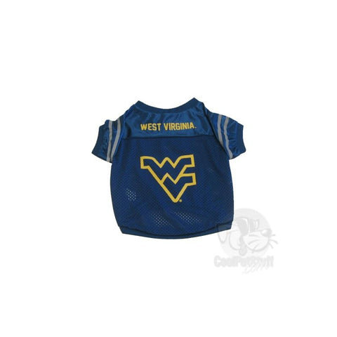 West Virginia Mountaineers Collegiate Pet Jersey