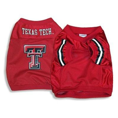 Texas Tech Dog Jersey Alternate Style