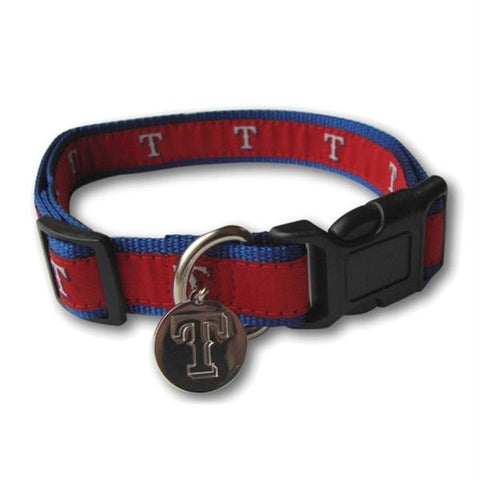 Texas Rangers Dog Collar Alternate Design