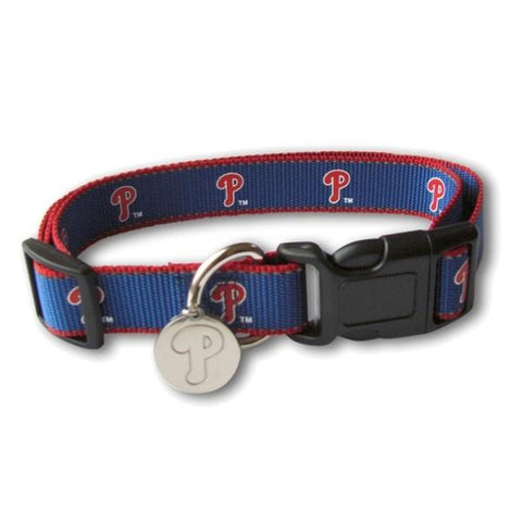 Philadelphia Phillies Reflective Dog Collar
