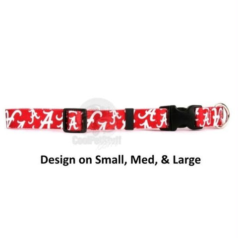 Alabama Crimson Tide Nylon Collar