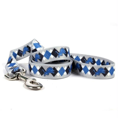 Detroit Lions Argyle Nylon Leash