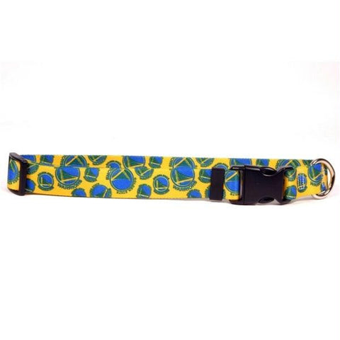 Golden State Warriors Nylon Collar