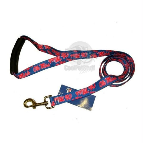 Ole Miss Rebels EZ Grip Nylon Leash