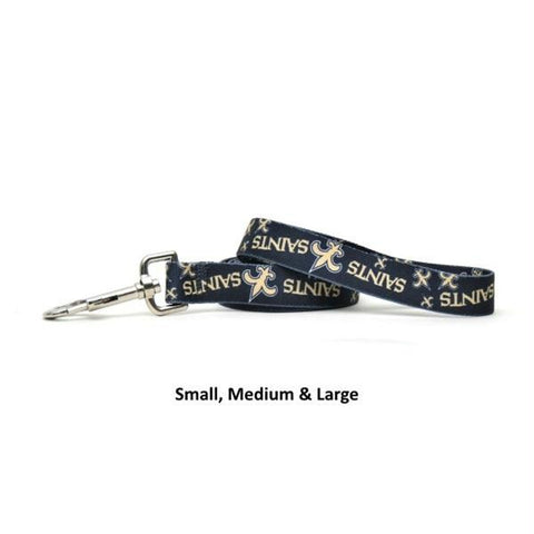 New Orleans Saints Nylon Leash