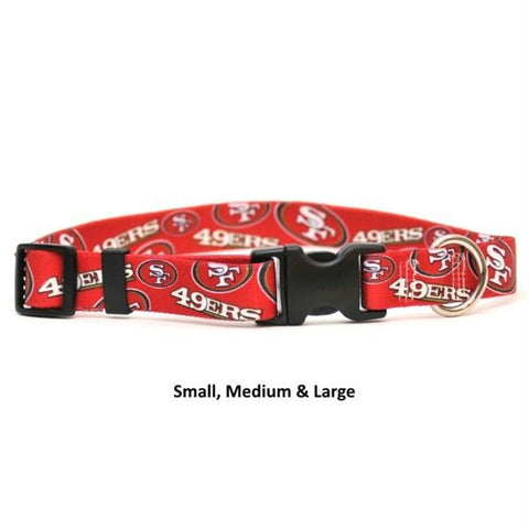 San Francisco 49ers Nylon Collar