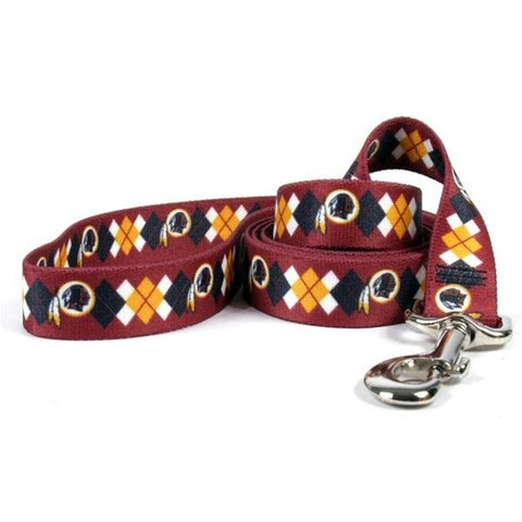 Washington Redskins Argyle Nylon Leash