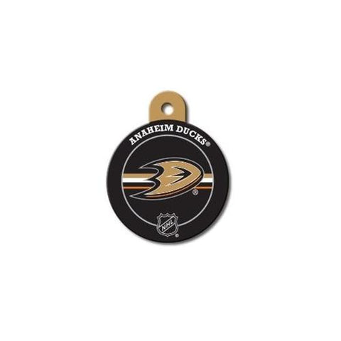 Anaheim Ducks Large Circle ID Tag