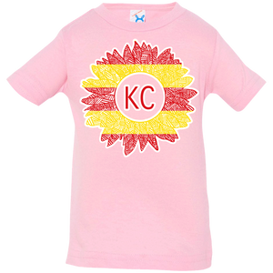 Chiefs Sunflower Infant Jersey T-Shirt