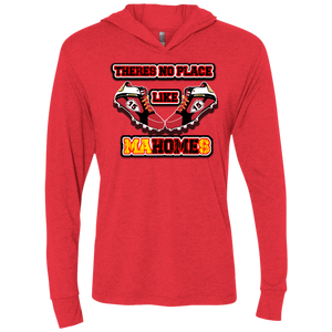 There's no place like MaHOMEs Unisex Triblend LS Hooded T-Shirt